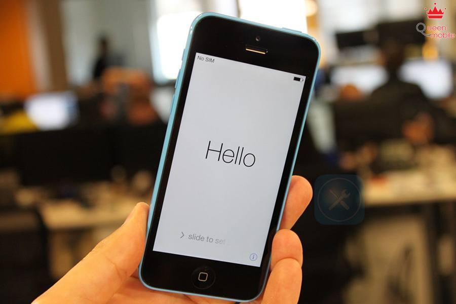 màn hình chào mừng iphone 5s