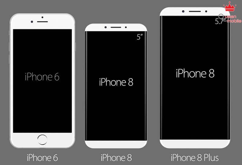 kich thuoc iphone 8 va 8 plus