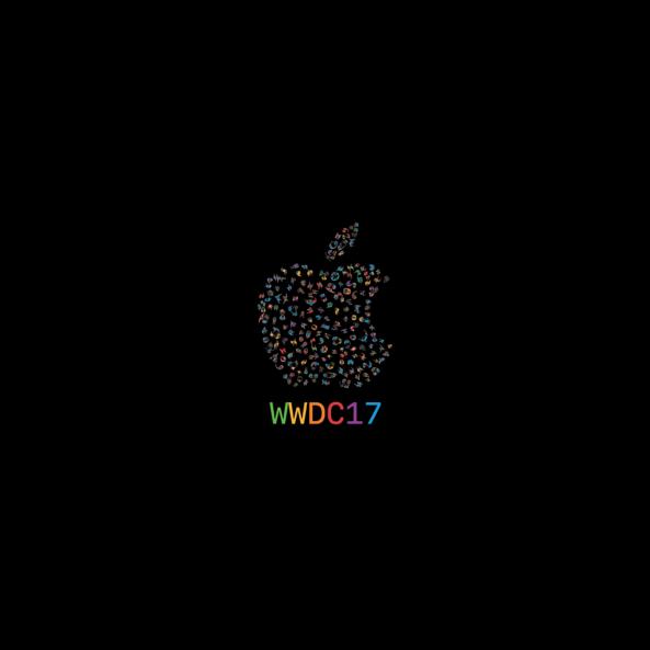 hinh nen WWDC 2017 ipad