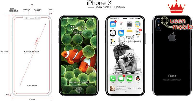 iphone x full vision mockup