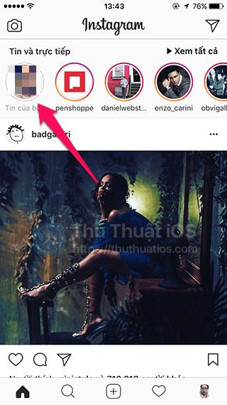 an cau chuyen instagram