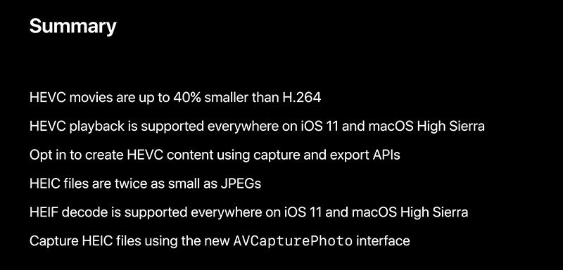 HEIF-FEVC-benefits-WWDC-2017-slide