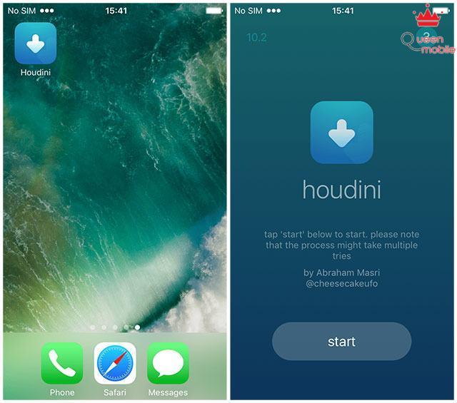 houdini-app-start
