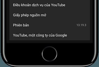 youtube phien ban 13.19.3