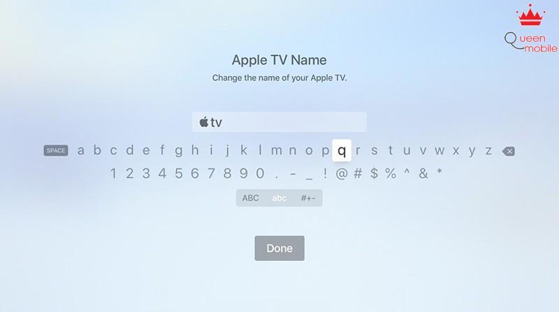 tvOS 12 cach go logo apple tren apple tv